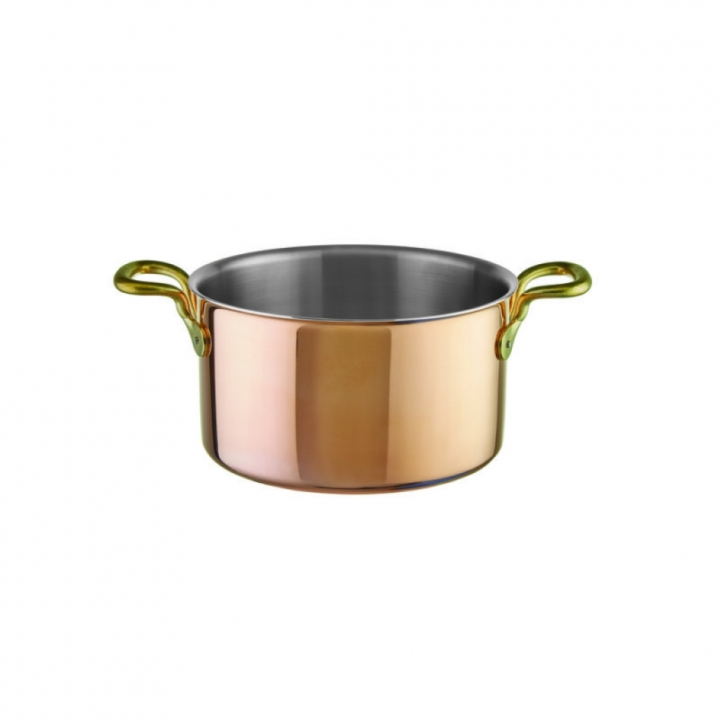 Saucepan high 2 handle