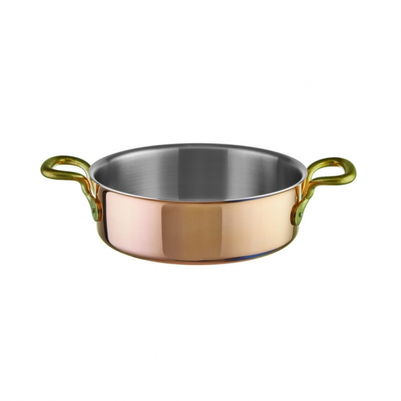 Saucepan low 2 handle